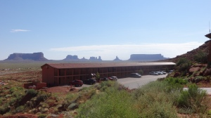 Goulding's at Monument Valley. I had the last room on the right.