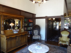 The library at the General Palmer hotel in Durango, the old west lives on.