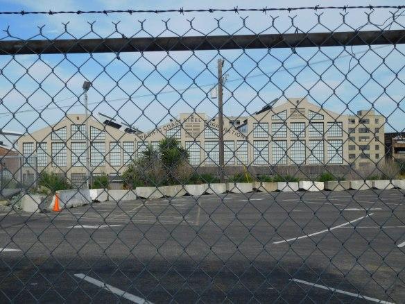 Pier 70 STeel w fence
